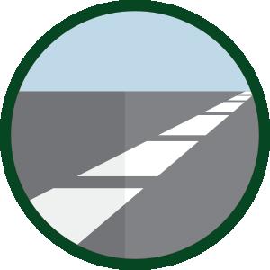 Qualitative Straßenmarkierungen von Silikal