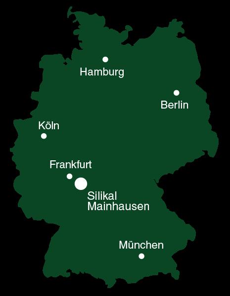 Silikal deutschlandweit