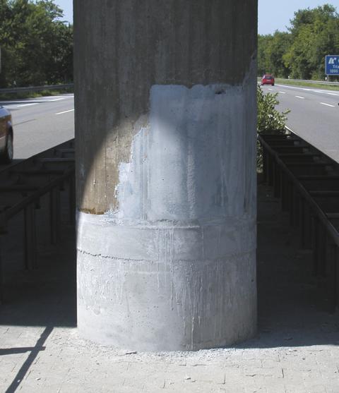 Silikal Brückenpfeilerreparatur