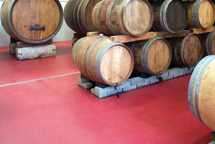 Robuste Bodenbeschichtungen für Weingüter