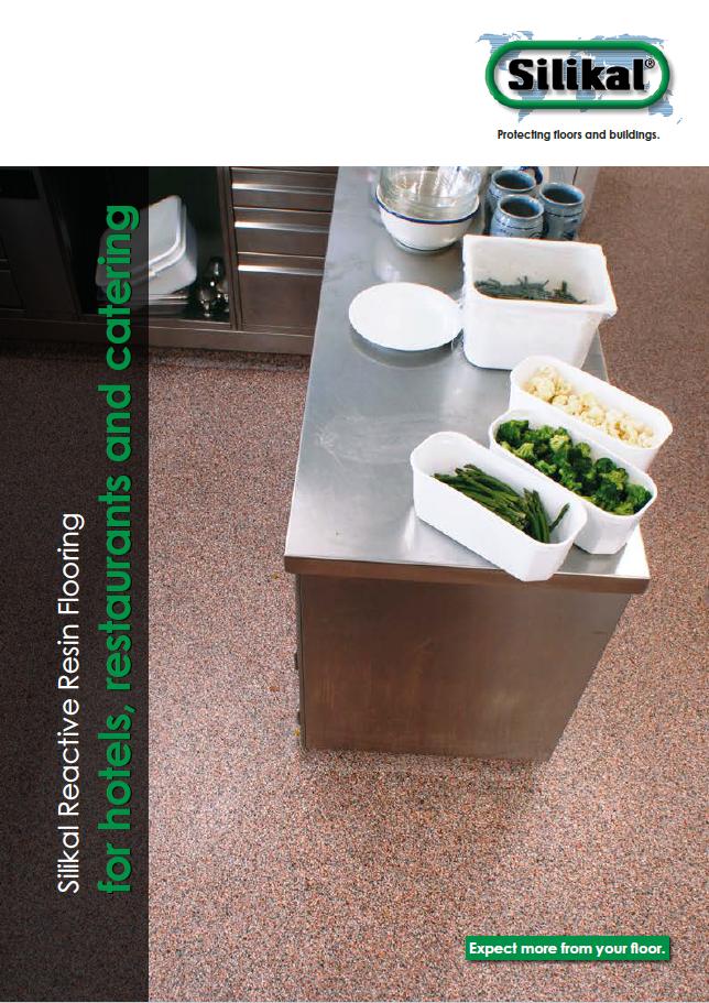 Fugenlose Bodenbeschichtungen für Hotels und Restaurants Broschüre