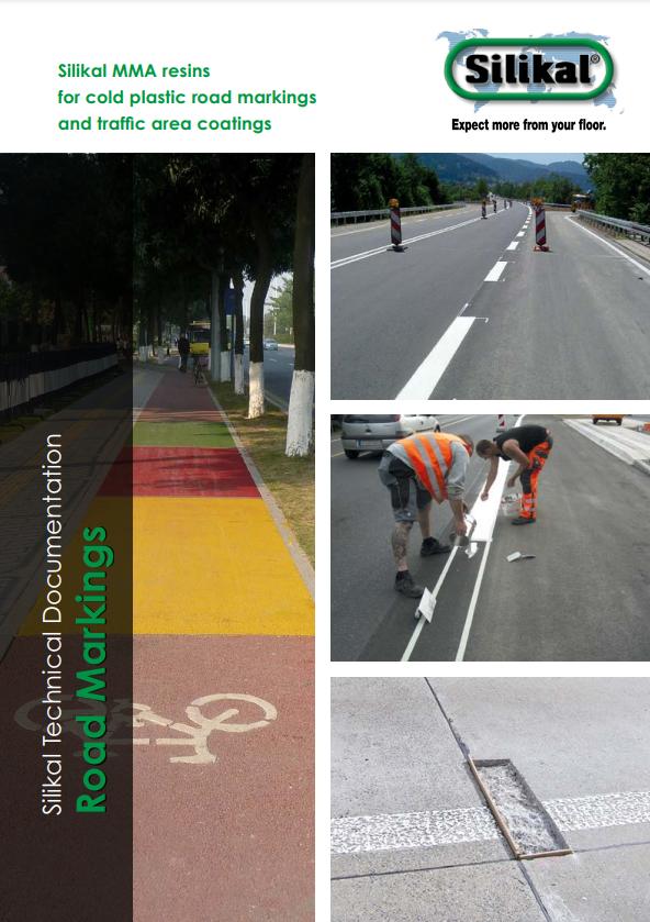 Broschüre MMA-Harze für Kaltplastik Straßenmarkierungen